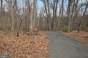 Steps to the Entrance to Four Mile Run Trails. - 5009 7TH RD S #102, ARLINGTON