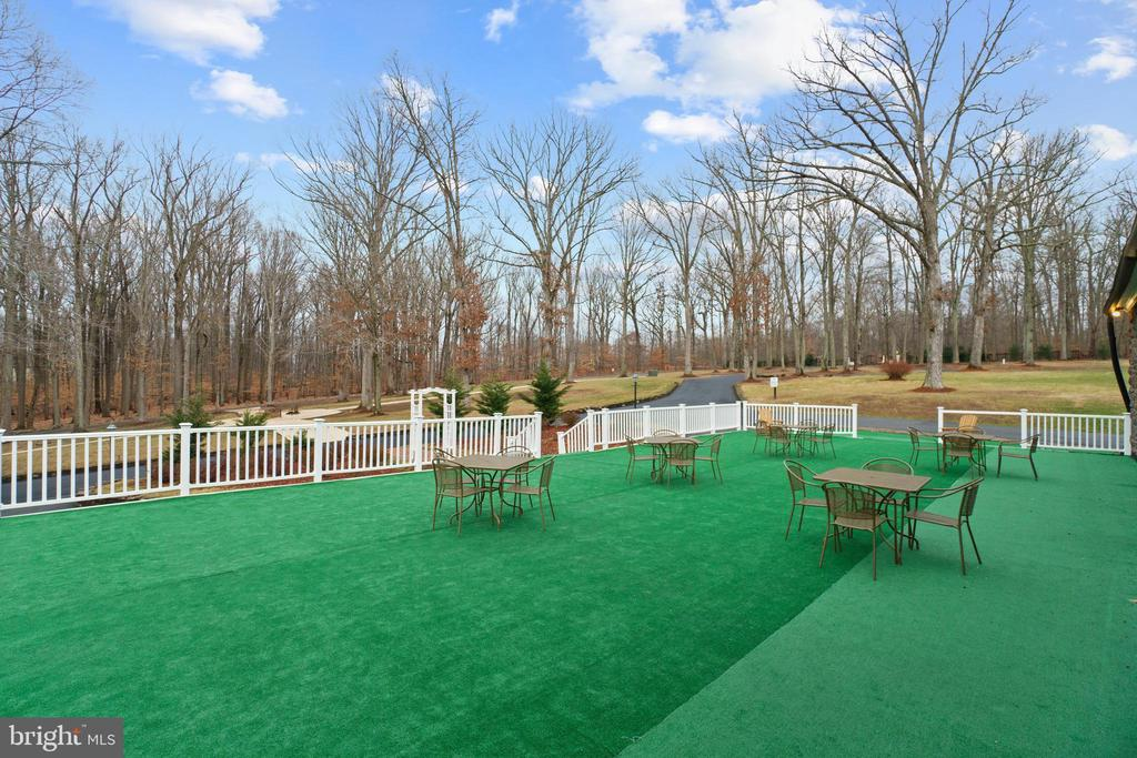 This Area Used for Weddings Erecting a Marque - 40543 COURTLAND FARM LN, ALDIE