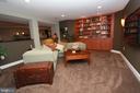 Lower Level Media Room - 6951 JEREMIAH CT, MANASSAS