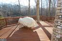 Private back deck - 6951 JEREMIAH CT, MANASSAS