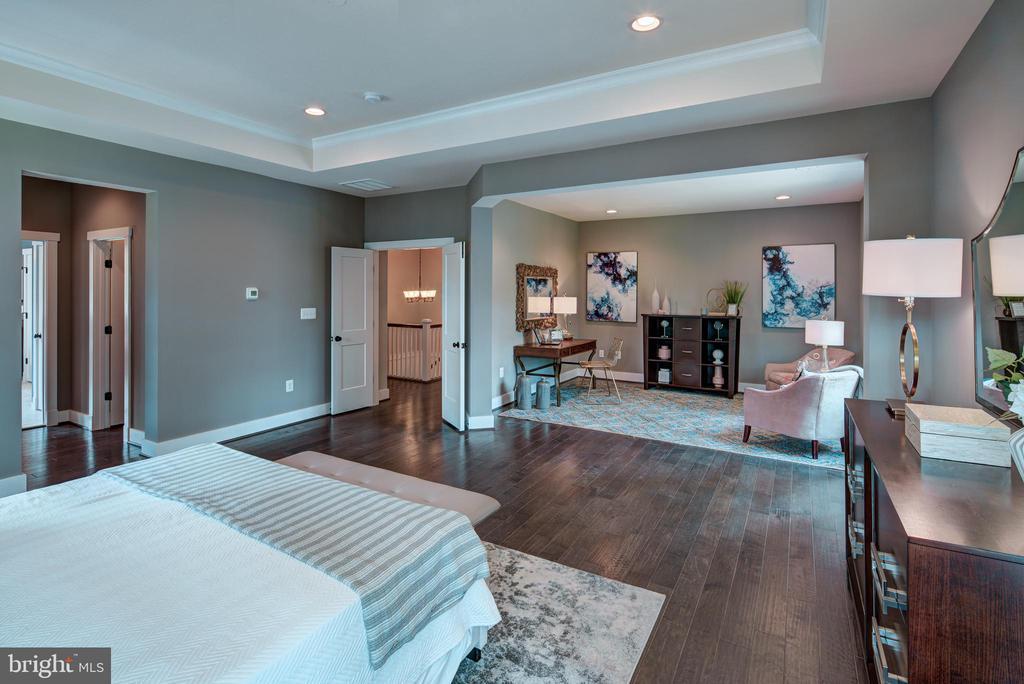 Primary Bedroom(previous model) - 3283-A FOX MILL, OAKTON