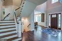 2 Story Foyer open to Dining Room(previous model) - 3283-A FOX MILL, OAKTON