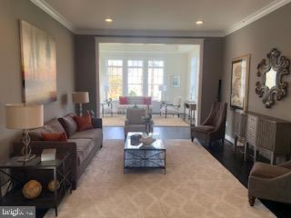 Living Room opens to Conservatory(previous model) - 3283-A FOX MILL, OAKTON