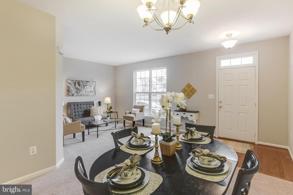 Dining Room - 156 EXECUTIVE CIR, STAFFORD