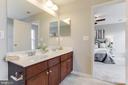 Dual Sink Vanity - 156 EXECUTIVE CIR, STAFFORD