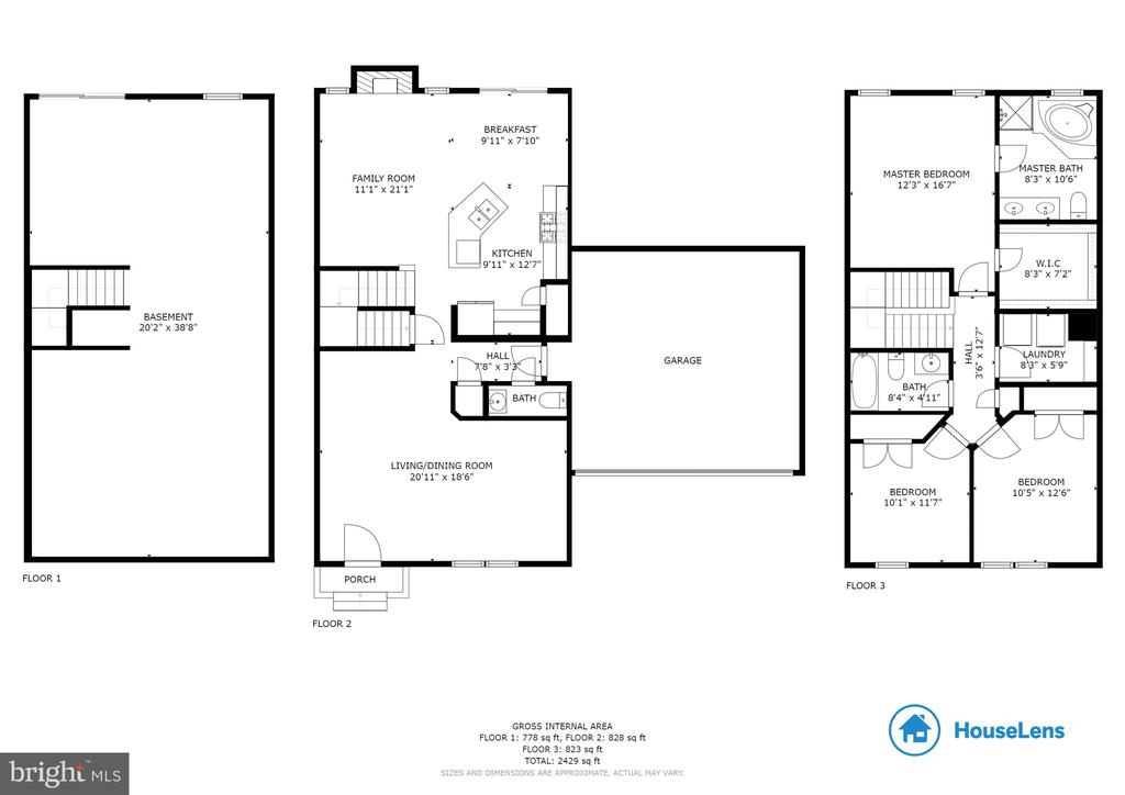 Floorplan - 156 EXECUTIVE CIR, STAFFORD
