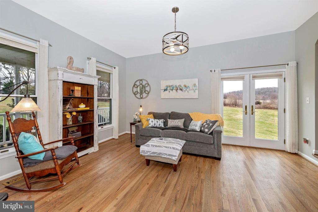 living room - 13001 PENN SHOP RD, MOUNT AIRY