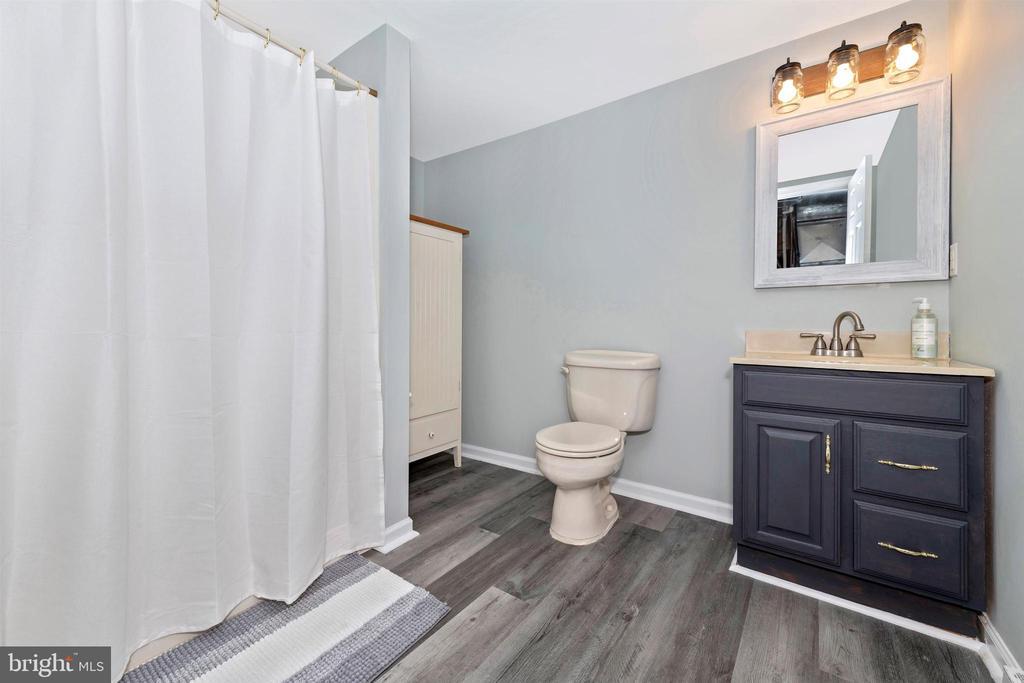 basement bathroom - 13001 PENN SHOP RD, MOUNT AIRY