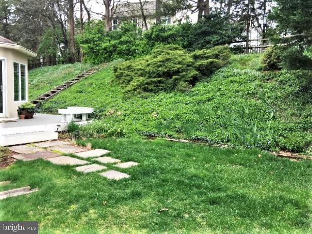 SUMMER PHOTO: GREEN HILLSIDE AND LUSH GRASS - 333 CARDINAL GLEN CIR, STERLING