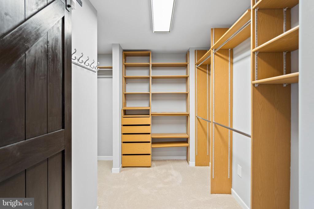Large walk in closet (1 of 2!) - 38853 MOUNT GILEAD RD, LEESBURG
