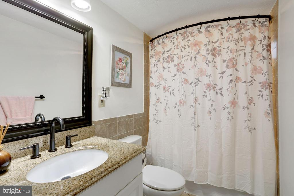 Main Level Primary Bathroom - 3862 BEECH DOWN DR, CHANTILLY