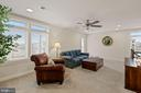 Upper Level Rec Room Leads to Roof Top Deck - 1801 YELLOW GARNET TER SE, LEESBURG