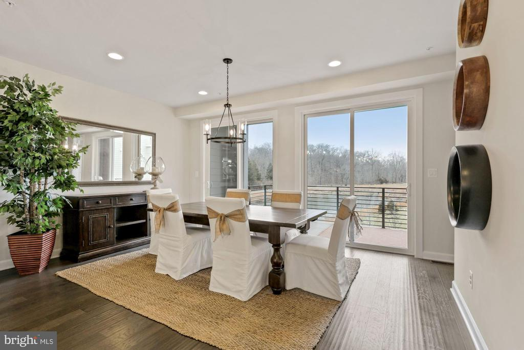 Amazing Rear View from Dining Room - 1801 YELLOW GARNET TER SE, LEESBURG