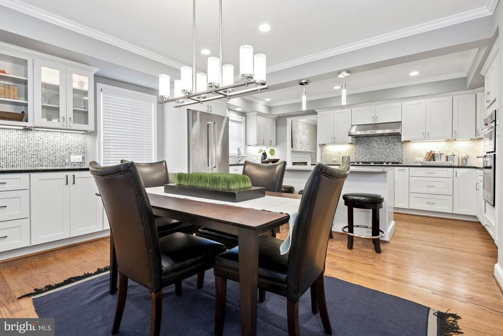 Beautiful renovated kitchen/dining space - 3145 14TH ST S, ARLINGTON
