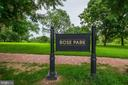 Nearby Rose Park with Playground &  Playing Fields - 2816 O ST NW, WASHINGTON