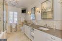 Primary Bath with Dual Vanities - 2816 O ST NW, WASHINGTON