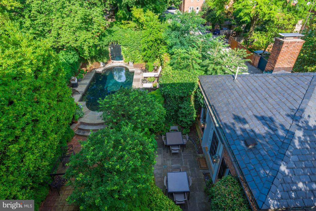 Rear Grounds and Pool - 1691 34TH ST NW, WASHINGTON