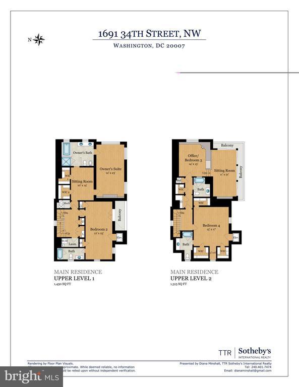 Floor Plan 2 - 1691 34TH ST NW, WASHINGTON