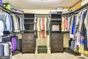 Primary Bedroom #2 Full Walkin Closet - 37195 KOERNER LN, PURCELLVILLE