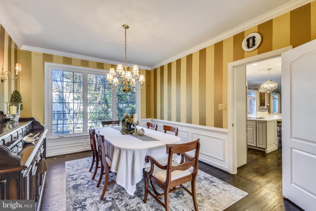 Dining Room off of kitchen - 20449 SWAN CREEK CT, POTOMAC FALLS