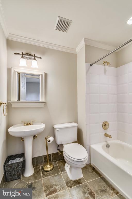Lower Level Full Bath - 20449 SWAN CREEK CT, POTOMAC FALLS
