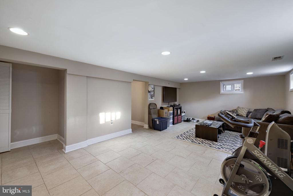Basement - 4821 QUARLES ST NE, WASHINGTON