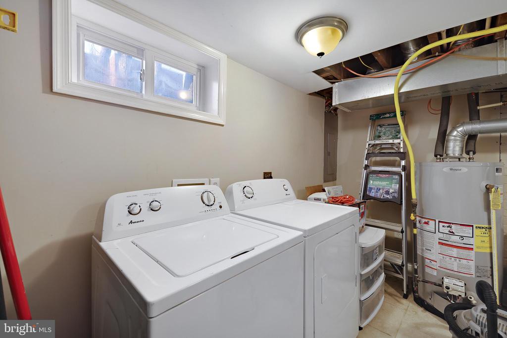 Laundry Area - 4821 QUARLES ST NE, WASHINGTON