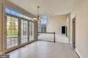 French doors galore with transomes - 514 MEADE DR SW, LEESBURG