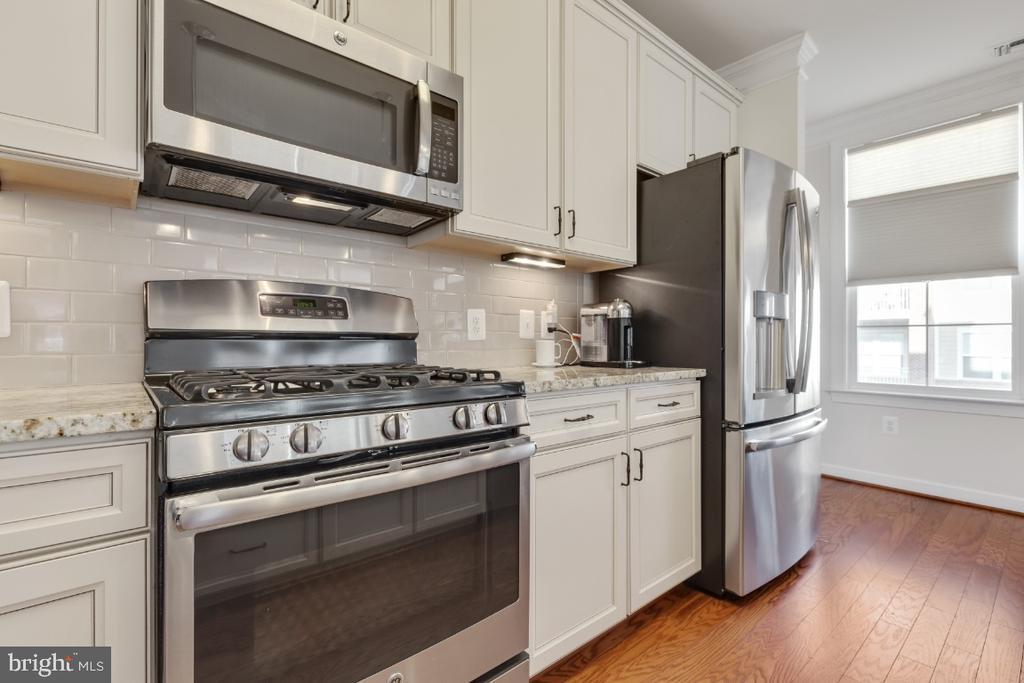 Beautiful upgraded cabinets - 3160 JOHN GLENN ST #308, HERNDON