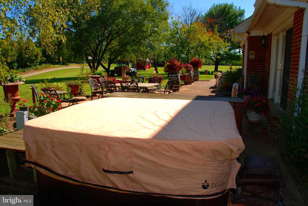 Hot tub, Bar and Patio - 12138 HARPERS FERRY RD, PURCELLVILLE