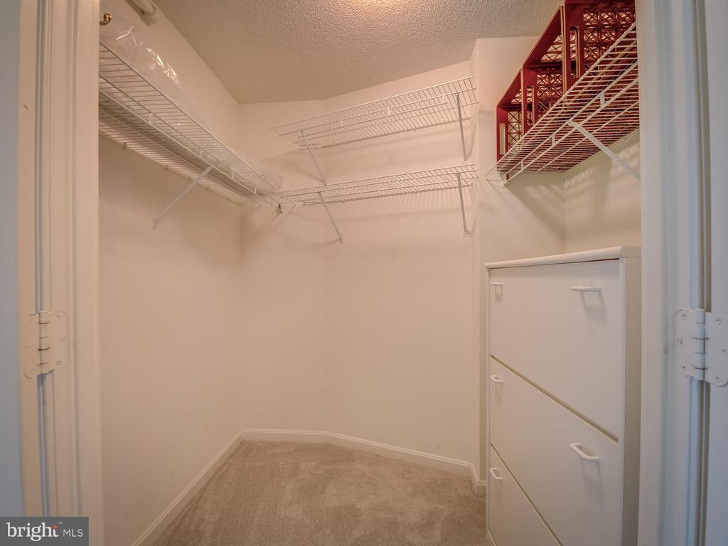 Master bedroom closet #1 walk in - 19385 CYPRESS RIDGE TER #1103, LEESBURG