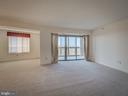 Den adjoins the living room - 19385 CYPRESS RIDGE TER #1103, LEESBURG