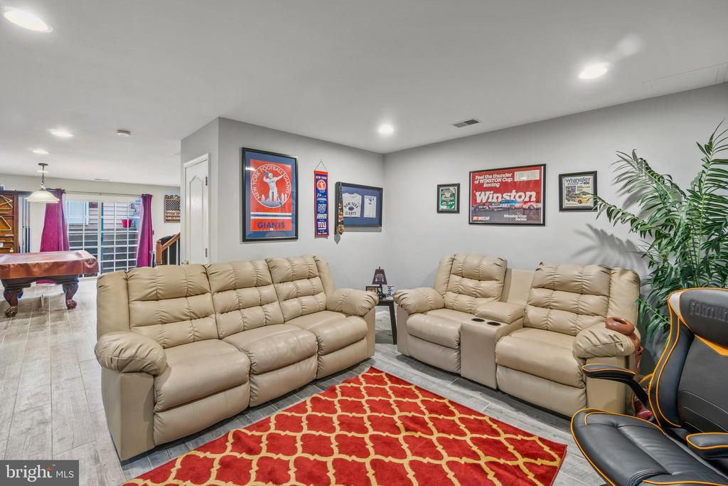 Game /Entertainment Room toward Rec Room - 11924 RICKETTS BATTERY DR, BRISTOW