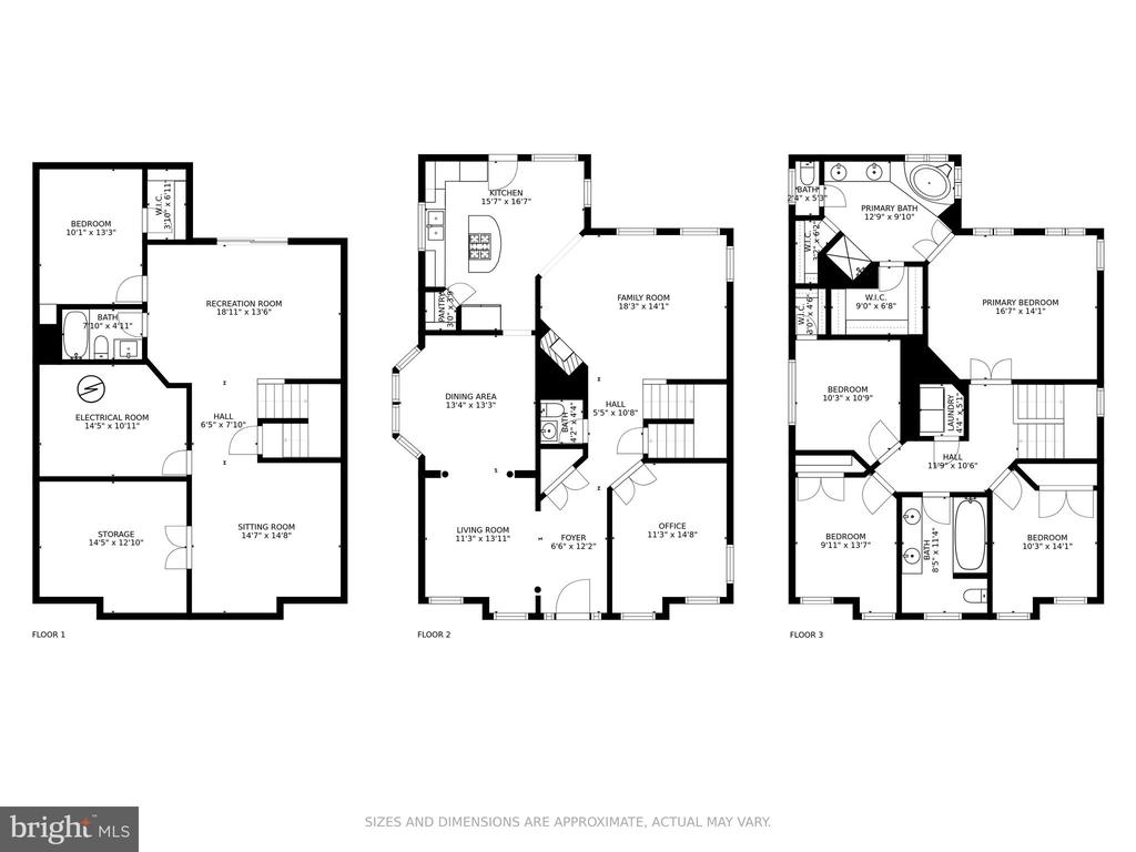 Floor Plans - 11924 RICKETTS BATTERY DR, BRISTOW