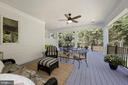 Plenty of room to enjoy days and evenings here - 1901 ALLANWOOD PL, SILVER SPRING