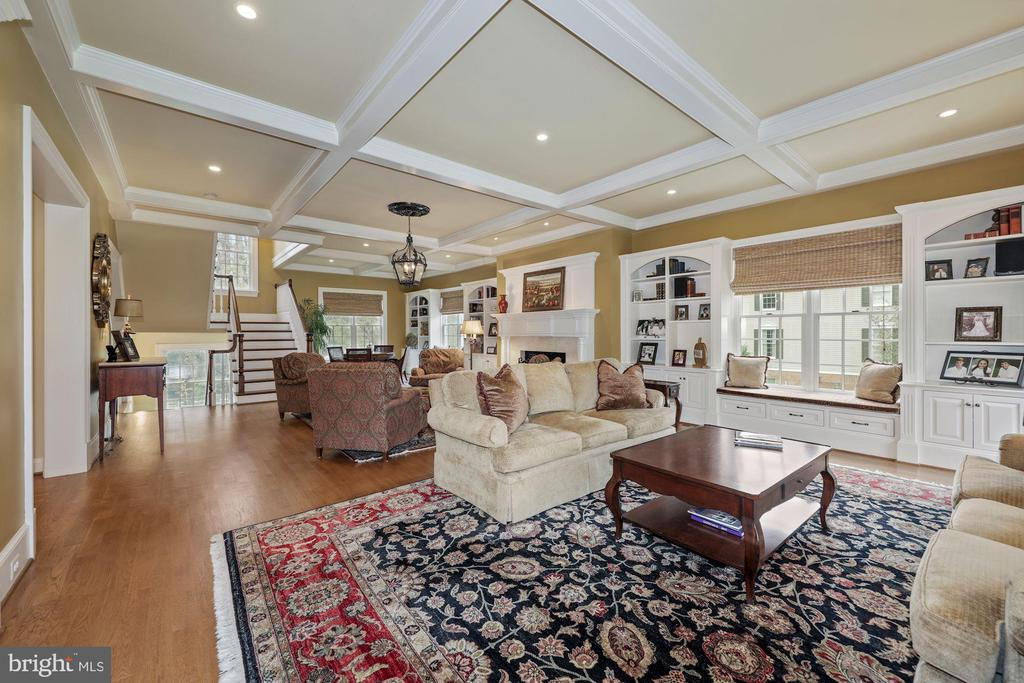 Stunning room w/coffered, 10' ceiling, hdwd floors - 1901 ALLANWOOD PL, SILVER SPRING