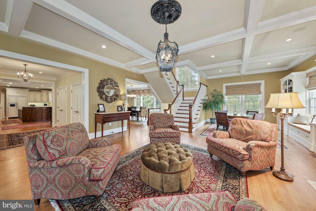 Large windows (9over9 panes)  surround the room - 1901 ALLANWOOD PL, SILVER SPRING