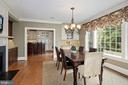 Built-in desk, cabinetry. Overlooks rear yard - 1901 ALLANWOOD PL, SILVER SPRING