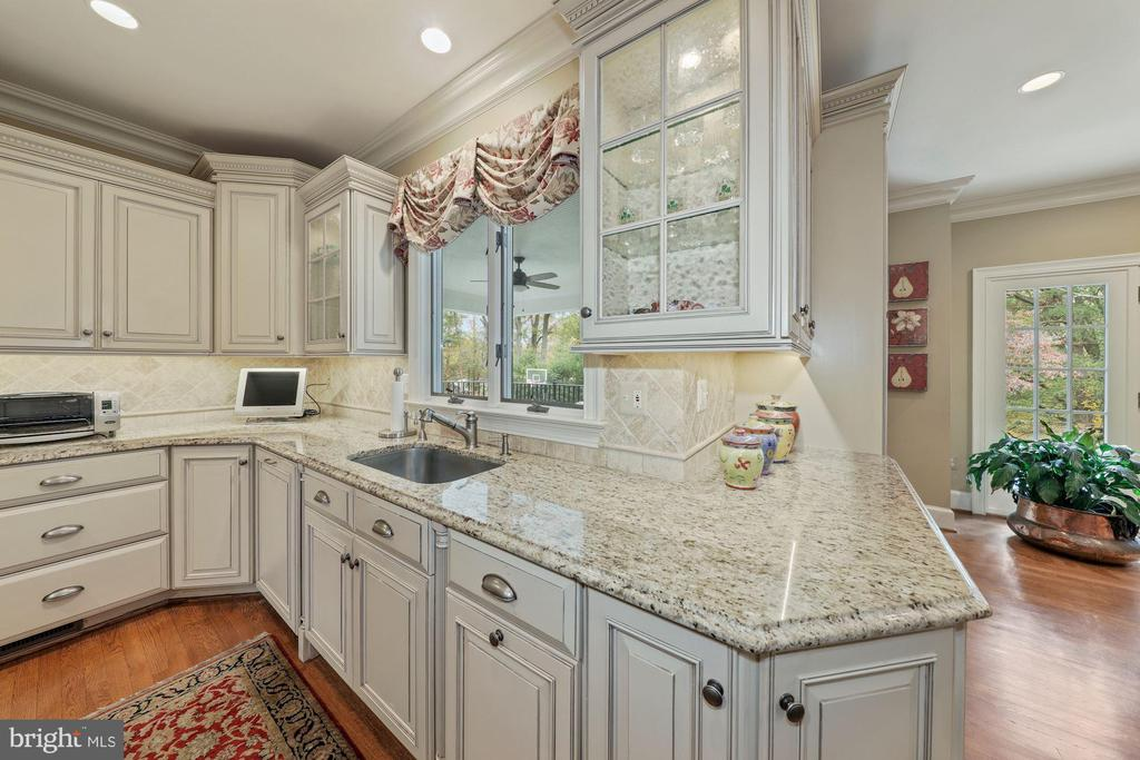 Cabinets by Wood Harbor--full overlay; InstaHot - 1901 ALLANWOOD PL, SILVER SPRING