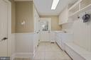 Mudroom--access side porch, utility sink, closet - 1901 ALLANWOOD PL, SILVER SPRING