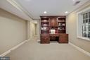 Office has built-in desk/shelves; 2 cedar closets - 1901 ALLANWOOD PL, SILVER SPRING