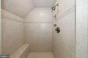 All tile shower, seat, tile accents - 1901 ALLANWOOD PL, SILVER SPRING