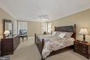 Primary Bedroom, large enough for king size furnit - 1901 ALLANWOOD PL, SILVER SPRING