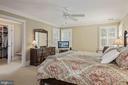 Primary Bedroom w/3-piece crown molding - 1901 ALLANWOOD PL, SILVER SPRING