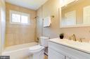 Updated Full Bath - 5703 BELFAST LN, SPRINGFIELD