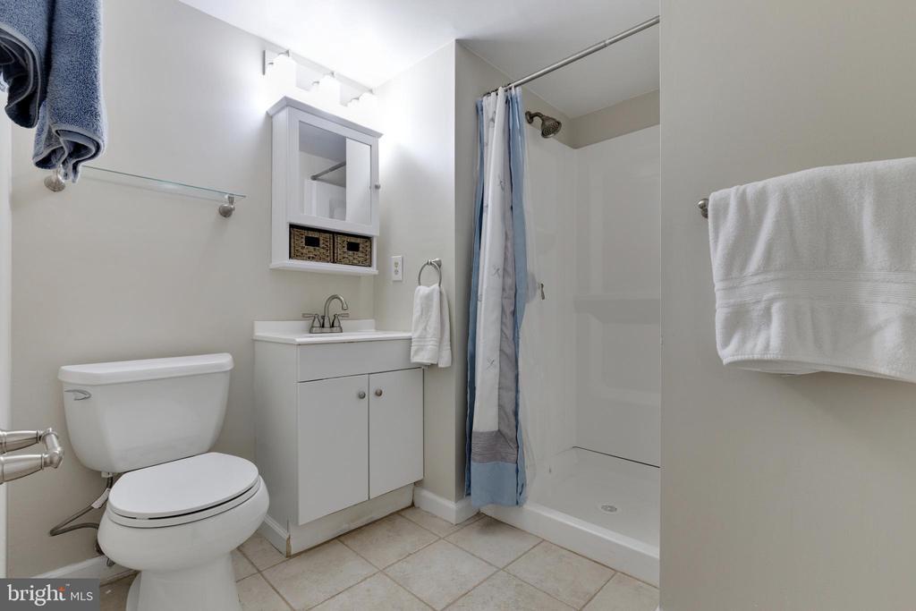 Basement 3rd Full Bath - 11710 COLLINGWOOD CT, WOODBRIDGE