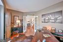 Private office with french doors - 11322 SCOTT PETERS CT, MANASSAS