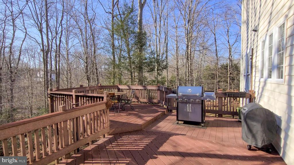 Perfect for summertime grilling - 11322 SCOTT PETERS CT, MANASSAS