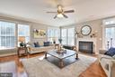 Huge light filled family rm with tons of windows - 11322 SCOTT PETERS CT, MANASSAS