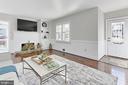 Crisp moldings & window shutters brighten the room - 9401 OX RD, LORTON
